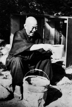 Shunryo Suzuki Roshi. He was instrumental in popularizing Zen Buddhism in America.