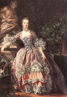 Jeanette Antoinette Pompadour duquesa-marquesa de Pompadour y marquesa de Menars, con paridad francesa, conocida como Madame de Pompadour (París, 29 de diciembre de 1721 - † Versalles, 15 de abril de 1764), fue una muy famosa cortesana francesa, la amante más célebre del rey Luis XV, además de una de las principales promotoras de la cultura durante el reinado de dicho rey.