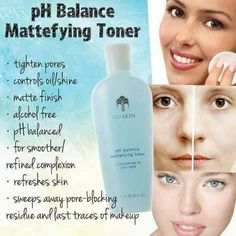 Ph Balance Toner primes skin for hydration. Featuring strawberry extract to ruturn skin to its ideal pH while helping diminish the appearance of pores. Nu Skin, Oily Skin, Big Pores, Tighten Pores, Toner For Face, Beauty Secrets, It Is Finished, Skin Care, Makeup