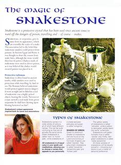The magic of Snakestone
