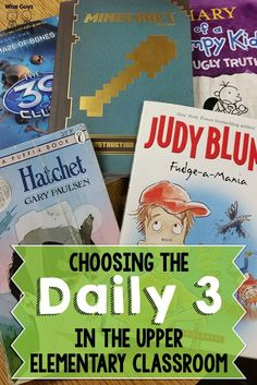 Have you seen this?? We shared why we have switched to doing the Daily 3 instead of the Daily 5 – and how it works in our classrooms!