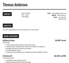 How To Build A Resume Free Resume Cv Example Resumecvexample On Pinterest