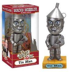 Funko Tin Man Wizard of oz Wacky Wobbler Bobblehead Glinda The Good Witch, Wicked Witch, Wizard Of Oz Gifts, Wizard Oz, Hamilton Gifts, Wacky Wobbler, Bobe, Tin Man, Fantasy Dragon