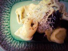 Tortelloni Cabbage, Grains, Rice, Vegetables, Food, Noodle, Essen, Cabbages, Vegetable Recipes