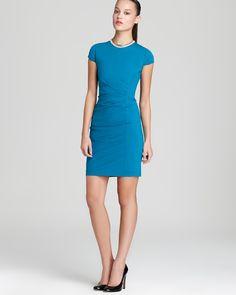 Elie Tahari Dress - Toni Cap Sleeve   Bloomingdale's