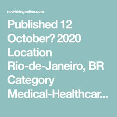 Published 12 October، 2020 Location Rio-de-Janeiro, BR Category Medical-Healthcare  Job Type Full-time  Description Scope of Job Works under moderate supervision of a physician to provide advanced practice nursing care and treatment within primary care and/or board recognized specialization. Description of Duties • Provides outpatient and/or inpatient evaluation and treatment of well care, illness ... Medical Assistant Program, Ut Health, Finding The Right Job, Healthcare Jobs, 12 October, Nursing Care, Listening Skills, Educational Programs, Medical Information
