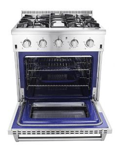 Thor Kitchen Freestanding Professional Style Gas Range with cu. Gas Wall Oven, Gas Oven, Stove Oven, Best Gas Stove, Thor, Oven Design, Oven Range, Kitchen On A Budget, Dreams