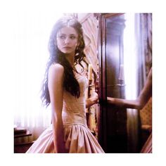katherine pierce | Tumblr ❤ liked on Polyvore featuring nina dobrev, people, vampire diaries, the vampire diaries and nina