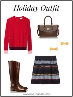 Tory Burch Holiday Outfit