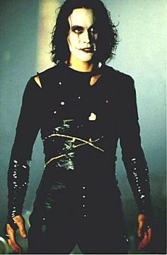 """He was already dead. He died a year ago. The moment he touched her. They're all dead."" ~ Eric Draven Loved Brandon Lee and The Crow. It's still one of my favorite movies of all time! Brandon Lee, Bruce Lee, The Crow, Movie List, Movie Tv, Movies Showing, Movies And Tv Shows, Stairway To Heaven, Parkour"