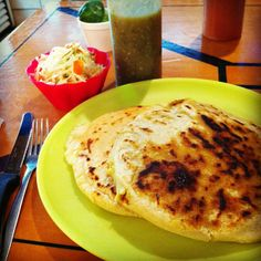 Cheap, delicious Salvadoran eats.  Recommended: the pupusa revueltas and tongue taco.