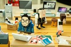 """Paper Toys at """"Times Square"""" Exhibition (1)"""