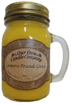 LEMON POUNDCAKE MASON JAR CANDLE