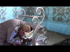 Great craft! From a profile pipe! Cold forging - YouTube Metal Bending, Metal Working, Youtube, Cold, Children, Projects, Crafts, Ideas, Steel Doors