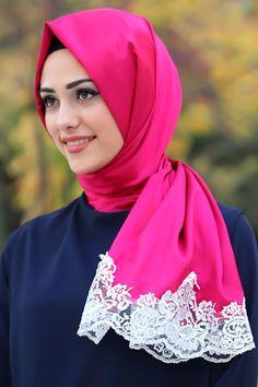 Neva Style - Dantelli İpek Görünümlü Tesettür Şal 1507 Beautiful Hijab Girl, Beautiful Girl Image, Turkish Wedding, Moslem, Muslim Beauty, Hijabi Girl, Hijab Dress, Pashmina Scarf, Muslim Women