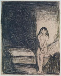 Edvard Munch - Puberty [1902]