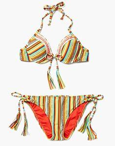 4972262959c77 Santiago Sunrise Shirred Back Basic Bottoms - Swim - Lucky Brand Jeans Swim  Top, Lucky