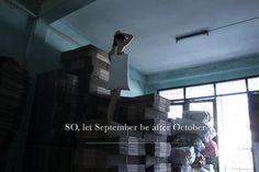 SO, let September be after October