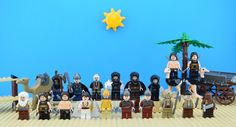 https://flic.kr/p/NufGDw | LEGO Prince of Persia universe | Hello friends I want to bring some sun to my rainy day... Please have a look to my Prince of Persia minifigures It's of movie about adventure of Dastan in Alamut Princess Tamina Vs Nizam... Enjoy your sunday guys !  Original picture by me