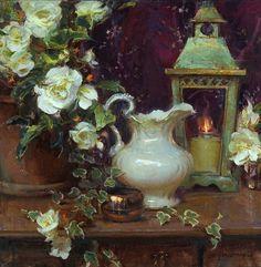 "Daniel Gerhartz American Painter.""Still Life"" Samuel Cherubin"
