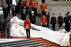 images of princess diana's wedding - Google Search