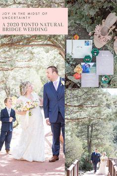 Joy In The Midst Of Uncertainty A 2020 Tonto Natural Bridge Wedding Wedding List, Dream Wedding, Fully Alive, Natural Bridge, Arizona Wedding, Spread Love, Moon Child, Photojournalism, Wedding Couples