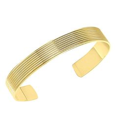 THEO FENNELL Whip Torque 18ct yellow-gold bangle