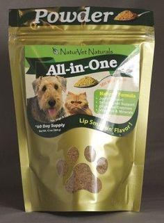 DOG HEALTH - VITAMINS & SUPP - ALL-IN-ONE POWDER SUPPLEMENT 60 DAY - 13 OZ - GARMON CORPORATION/NATURVET - UPC: 797801040044 - DEPT: DOG PRODUCTS