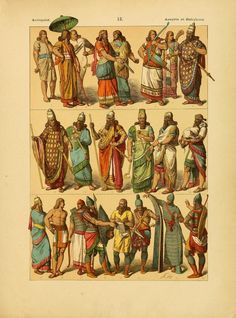 Babylonian fashion