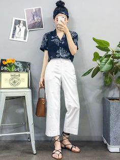 Here Are Some Top korean fashion style 6265 - Korean Fashion Casual, Korean Fashion Trends, Ulzzang Fashion, Korean Outfits, Cute Fashion, Asian Fashion, New Fashion, Fashion Outfits, Korean Street Fashion Summer