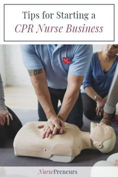 Have you ever thought about starting a CPR nurse business? What would it involve, how much would it cost? I have all the answers to starting a CPR business! Best Nursing Jobs, Nursing Career, Nursing Tips, Nursing Resume Template, Resume Templates, Advice Nurse, Cpr Manikins, Career Planner, Nursing Fields