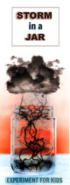 COOL KID SCIENCE: Make a storm in a jar!