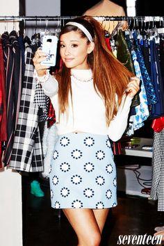 Ariana Grande - Seventeen Magazine - September 2014