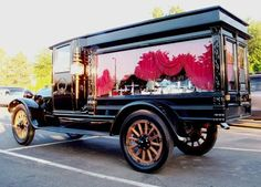 The oldest motorized hearse