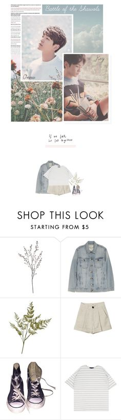 """""""battle of the shawols audition!"""" by leejnki ❤ liked on Polyvore featuring Crate and Barrel, Current/Elliott, Converse and boftheshawols"""