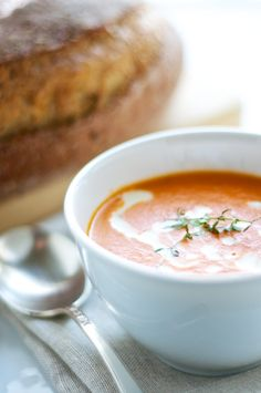 Tomato Orange Soup. Creamy tomato soup with spices and orange juice. A different take on your every day soup! Make in just 30 minutes! — Pixels + Crumbs