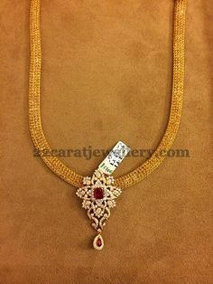 Detachable Simple Diamond Lockets | Jewellery Designs