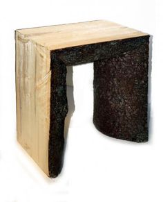This would be a great outdoor stool -- maybe in a circle around a campfire area.