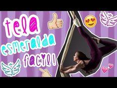 FIGURA EN TELA FACIL SIN INVERTIR   TUTORIAL ACROBACIA EN TELA   Grupo SILFIDE - YouTube