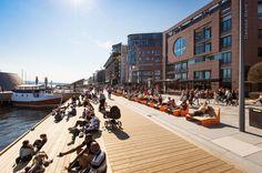 The Waterfront Promenade at Aker Brygge | Oslo | Norway | Waterfront 2016 | WAN Awards