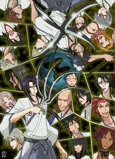Anime/manga: Bleach Characters: To many to name