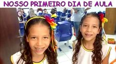 NOSSO PRIMEIRO DIA DE AULA - YouTube