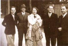 Pioneers of anthroposophical curative education: Werner Pache, Franz Löffler, Ita Wegman, Sigfried Pickert and Albrecht Stroschen (