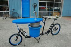 Shimano Beer Delivery Bike :-)