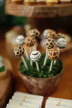 Jungle themed birthday party with Such Cute Ideas via Kara's Party Ideas