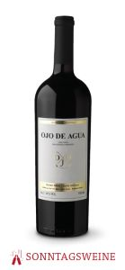 Ojo de Agua Cuvée Spéciale Barrel Selection 2014 - Ojo de Vino/Agua - Dieter Meier Shops, Red Wine, Alcoholic Drinks, Bottle, Glass, Water, Eye, Message In A Bottle, Tents