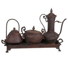 Rhodes Rustic Tea Set