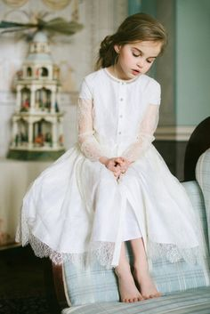 This would be a great flower girl option or just an Easter dress for a little girl