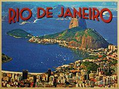 Rio postcard