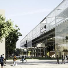 3 Winners Announced in Competition to Design the New Aarhus School of…